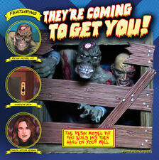 """""""They're Coming to Get You"""" Zombie Shadow Box Resin Model Kit by Spyda"""