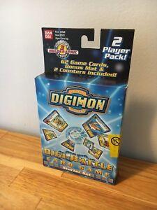 Digimon Cards Digi Battle 2 Player Starter Set Pack New English