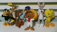 LOONEY TUNES 6 MCDONALDS TOYS TWEETY ROAD RUNNER COYOTE DAFFY BUGS BUNNY