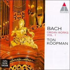 Bach: Organ Works Vol 1 - Fantasias, Preludes & Fugues /Koopman