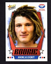 2007 AFL Champions Draft Pick Andrejs Everitt DR11 (Western Bulldogs)