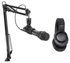 Audio Technica AT2005USBPK Gaming Twitch Stream Kit w/Microphone+Headphones+Boom