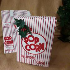 Bundle Of 10 Fresh Popcorn Boxes 975x65x 25 Close Top Cardboard Disposable
