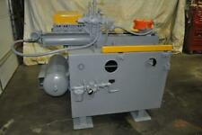 24 X 18 X 250 Feed Lease Air Feeder Straightener 5 Roll Straightener Entry P