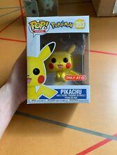 POKEMON sventolando Pikachu Funko Pop Figura #553 GIOCHI pronti per la spedizione *** UK venditore ***