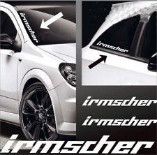 Opel IRMSCHER sticker mirror spiegel aufkleber corsa insignia Vauxhall sticker