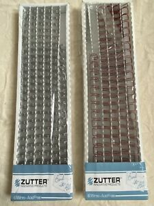 """Zutter Bind-It-All Wires Silver & Red 3/8"""", Binding Wires"""