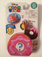 Disney Tsum Tsum Series 11 Tod 1105 & Nick Wilde 477 With 1 Or 2 Mystery Figures