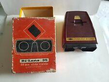 Sawyers Pana-vue bi-lens 35mm slide viewer lumineux