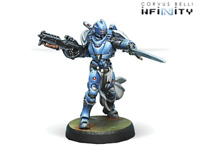 Infinity PanOceania Military Order Father-Knight (Spitfire) NIB