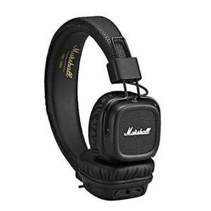 Wireless Marshall Major II Bluetooth Headphones 3.5mm Jack Headband USB UK stock
