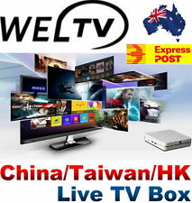 WELTV Premium (Watch HD China/Taiwan/HK Live Channels) Live TV Box IP TV