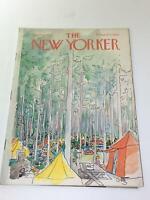 The New Yorker: September 4 1971 - Full Magazine/Theme Cover Arthur Getz