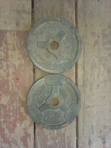 Weider Barbell 5 LB 2.2 KG Standard weight plate free weights plates