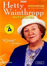 DVD: Hetty Wainthropp Investigates, Series 4 (reissue), . Very Good Cond.: