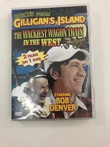 Rescue from Gilligan's Island / Wackiest Wagon Train DVD - Disc & Artwork only