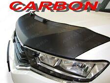 CARBON FIBRE LOOK VW Golf 7 MK7 BONNET BRA STONEGUARD PROTECTOR