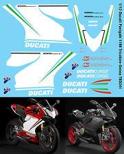 1/12 Ducati Panigale 1199 Tricolore  - Senna Decals TB Decal TBD241