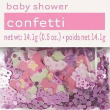 PINK DOTS BABY GIRL BABY SHOWER CONFETTI 14G BAG!