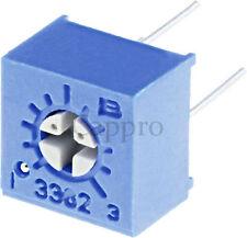 500pcs 1M ohm 3362 Trimmer Trim Pot Potentiometer New