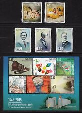 Luxembourg 2015 NH New Issues #3 - Toys, WW2, Holocaust