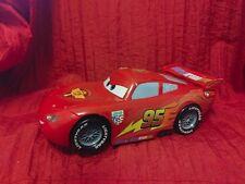 "Disney/Pixar Cars 9"" long Burnout Lightning McQueen (2014) Vehicle!!"