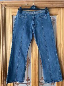 Vintage 90s Jeans Size 12 Short M&S Y2K 2000s