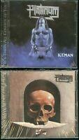 Platinum Iceman +Vanitas (unreleased) CD new remaster US cult metal indie