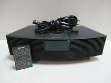 New listing Bose Wave Radio Am/Fm Model Awr1-1W w/Remote Black The display light not on