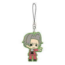 Phoenix Wright Ace Attorney Miles Edgeworth Mitsurugi Reiji Rubber Phone Strap