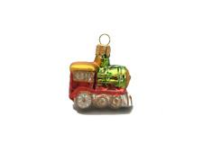 Mini Locomotive hand made Christmas ornament. Tree and Bauble.