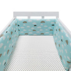 1pc 78 inch Baby Safe Crib Bumper Pads Washable Portable Mini Crib Liners Thick
