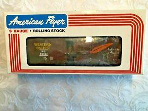 American Flyer by LTI #48307 Western Pacific Box car! - L@@K!