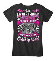 Comfortable My Best Friend Is Sister By Heart - Not Women's Premium Tee T-Shirt