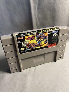 SWAT Kats (Super Nintendo SNES) Tested Authentic Rare Label Has Wear SWATKATS