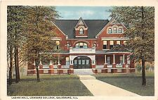 Illinois postcard Galesburg, Ladies Hall Lombard College