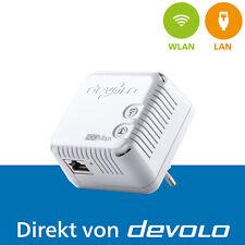 devolo dLAN 500 WiFi, 1x Powerline Adapter, WLAN Verstärker, 500 Mbps