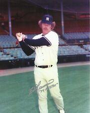 Ed Herrmann (DD) 1975 New York Yankees 1974 All-Star Autographed 8x10 Photo COA