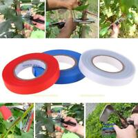 3 Roll PVC Flower Vegetable Hand Tying Binding Machine Garden Tape Tool Tapener