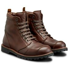 Belstaff Resolve Waterproof Leather Boots - Brown