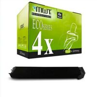 4x Eco Cartuccia Nero per Sharp MX-2310-N MX-3114-N MX-2310-U MX-2010-U