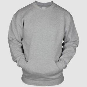 Pacific & Park HEATHER GRAY Crewneck Sweatshirt, US large