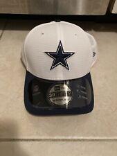New Era 39Thirty Cap NFL M/L Dallas Cowboys White Blue Training Hat 3930