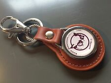 Ivor Johnson Arms Inc. Guns Real Leather Key rings