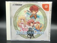 Tricolore Crise w/spine (Sega Dreamcast,2000) from japan #1333