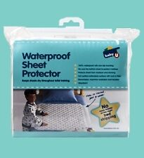 New Waterproof Mattress Protector Cot Toddler Bed Single Baby
