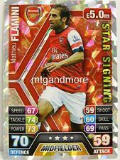 Match Attax 2013/14 Premier League - #018 Mathieu Flamini - Star Signing