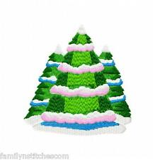 Holiday Christmas Trees 20 Machine Embroidery Designs on multi-formatted CD