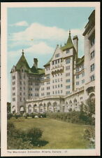 EDMONTON ALBERTA CANADA MacDonald Hotel Vintage Town View Postcard Old 1948 PC