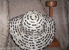 LADIES LEOPARDSKIN PRINT FLOPPY HAT  CHARMING CHARLIE ONE SIZE